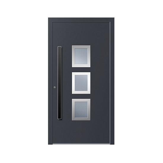 Aluminium-Haustüren Inox