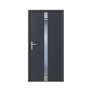 Kunststoff-Eingangstüren Inox