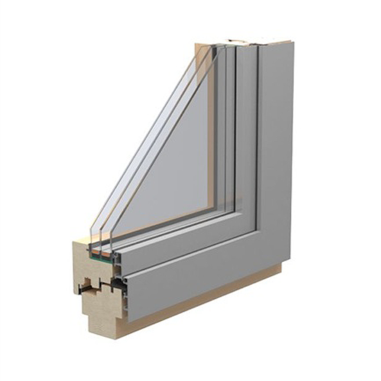 Holz-Alu-Fenster Solar78